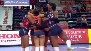 Winifer Fernandez – Sexy Indoor Volleyball Girl