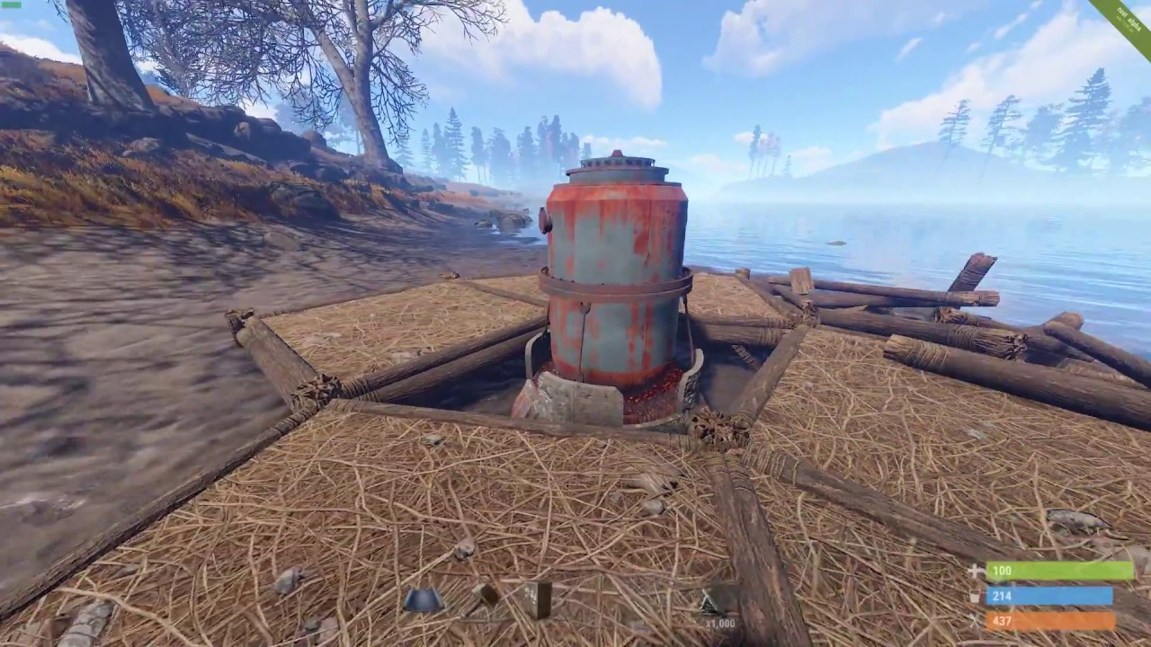 Rust - Low Profile Cheap Small Refinery Base EP6