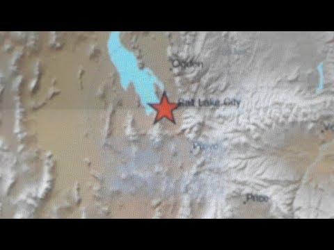 Sismo 5.7 Cerca De Salt Lake City, Utah #EU