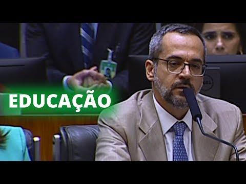Comissão geral é marcada por tensão entre ministro e deputados - 15/05/19