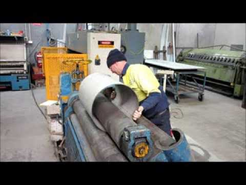Rolling 400mm x 10mm thick, Stainless Steel Cylinder