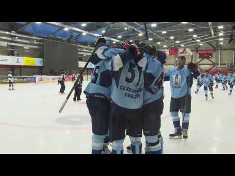 Last goal! PSC SAKHALIN - NIKKO ICEBUCKS 2:1. Aleksei Tkachuk (Aleksei Eremin)