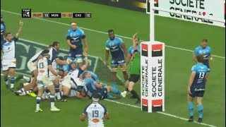 Match Rugby Top14 2018 - Castres / Montpellier - [En Entier]