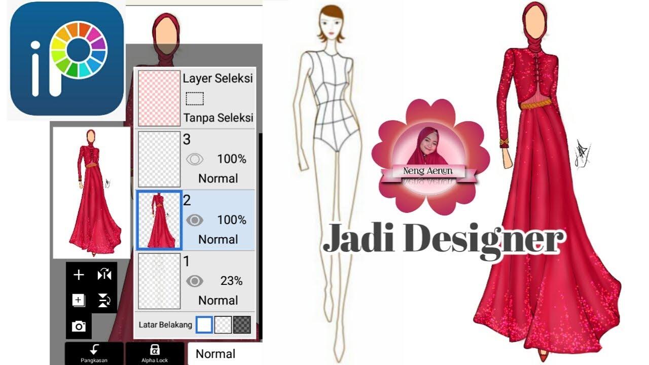 Desain busana di Ibis paint  fashion hijab muslim - YouTube