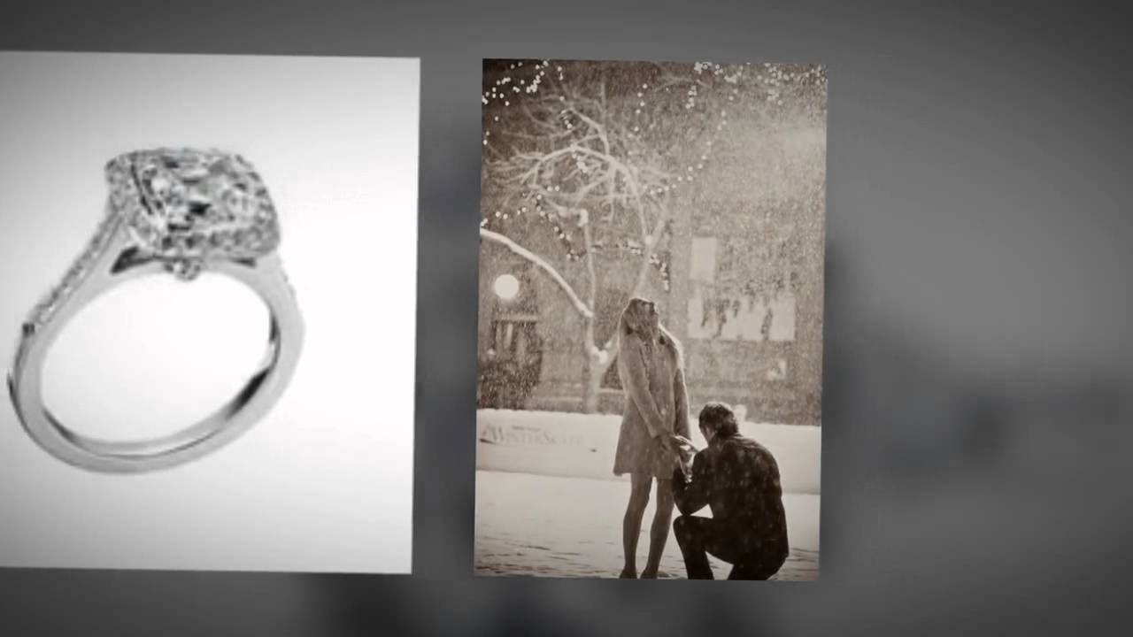 Tiffany Co Diamond Engagement ring Commercial Enoch 3rd period