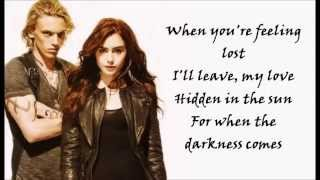 Colbie Caillat - When The Darkness Comes (from The Mortal Instruments) (Lyrics Video)