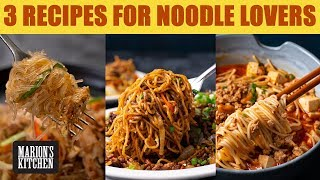 3 Recipes For Those Noodles Sitting In Your Pantry 💥🍜 | Marion's Kitchen