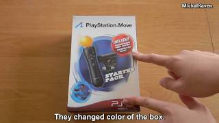 PlayStation Move Starter Pack 2 - Unboxing PL/ENG