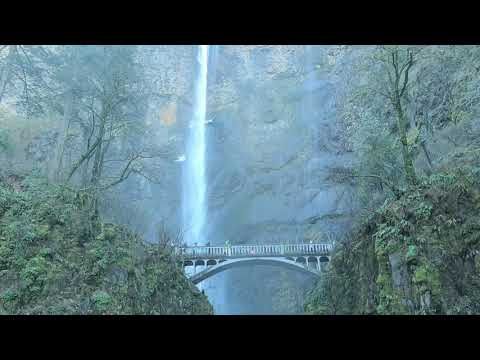 🔴Multnomah Falls Hike To The Top Columbia River Gorge Near Portland Oregon Pacific Northwest