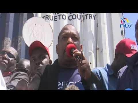 Toi market fire: Governor Sonko promises Ksh. 5M to rebuild Toi Market