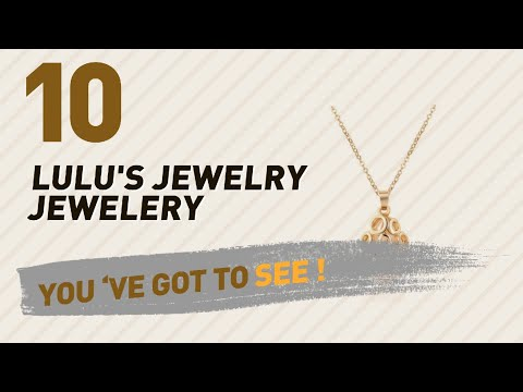 Lulu'S Jewelry Jewelery Collection For Women // UK New & Popular 2017