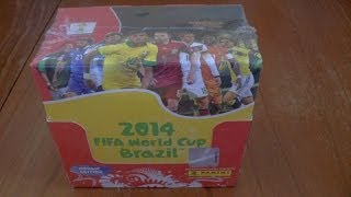 UNBOXING ☆ BOOSTER BOX nordic edition ☆ panini ADRENALYN XL WORLD CUP 2014 Trading Cards ☆