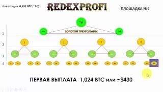 RedeX -  золотой треугольник