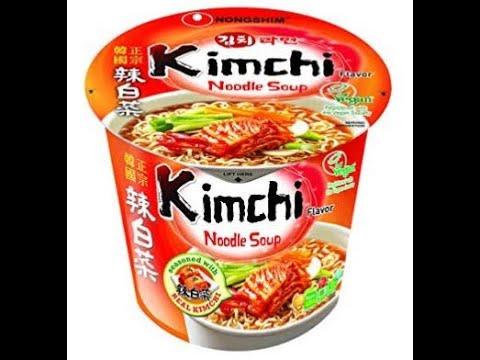 Ramen Review 5 - NongShim Kimchi Flavor Noodle Soup