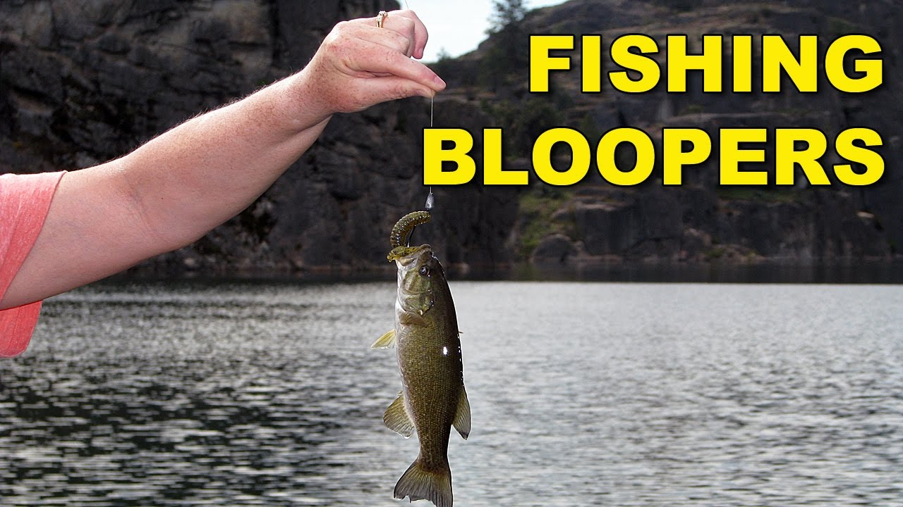 Funny fishing bloopers bass fishing youtube for Youtube bass fishing