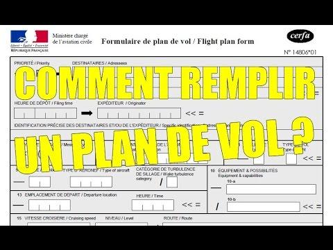 Tuto 8 comment remplir un plan de vol youtube for Comment concevoir un plan de construction