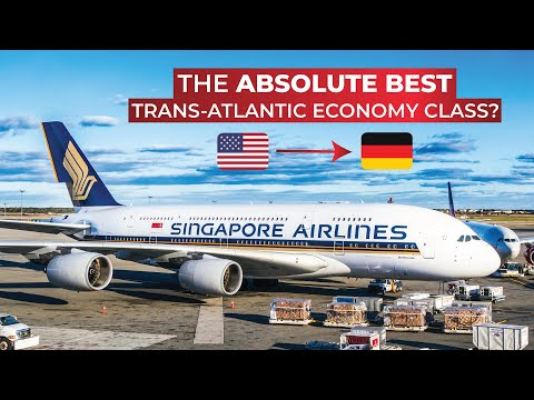 BRUTALLY HONEST Review Of Singapore Airlines Long-haul ECONOMY CLASS On The A380 Upper Deck!
