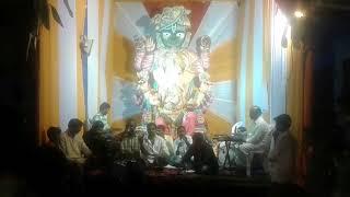 Ambernager pramodh singing@ ambernager thops gali ka Ganesh bajana program