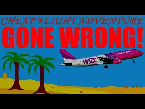 GONE WRONG - Israel Cheap Flight Adventure