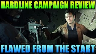Battlefield Hardline Single Player Review - Flawed From The Start