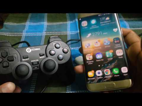 How to connect S8 / S8 Plus / S7 edge any GAME CONTROLLER setup tutorial for Android games