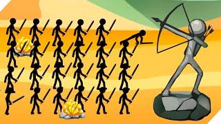 НОВАЯ СТИК ВАР ЛЕГАСИ ! -  Stick War: Stickman Battle Legacy 2020. Игры на андроид