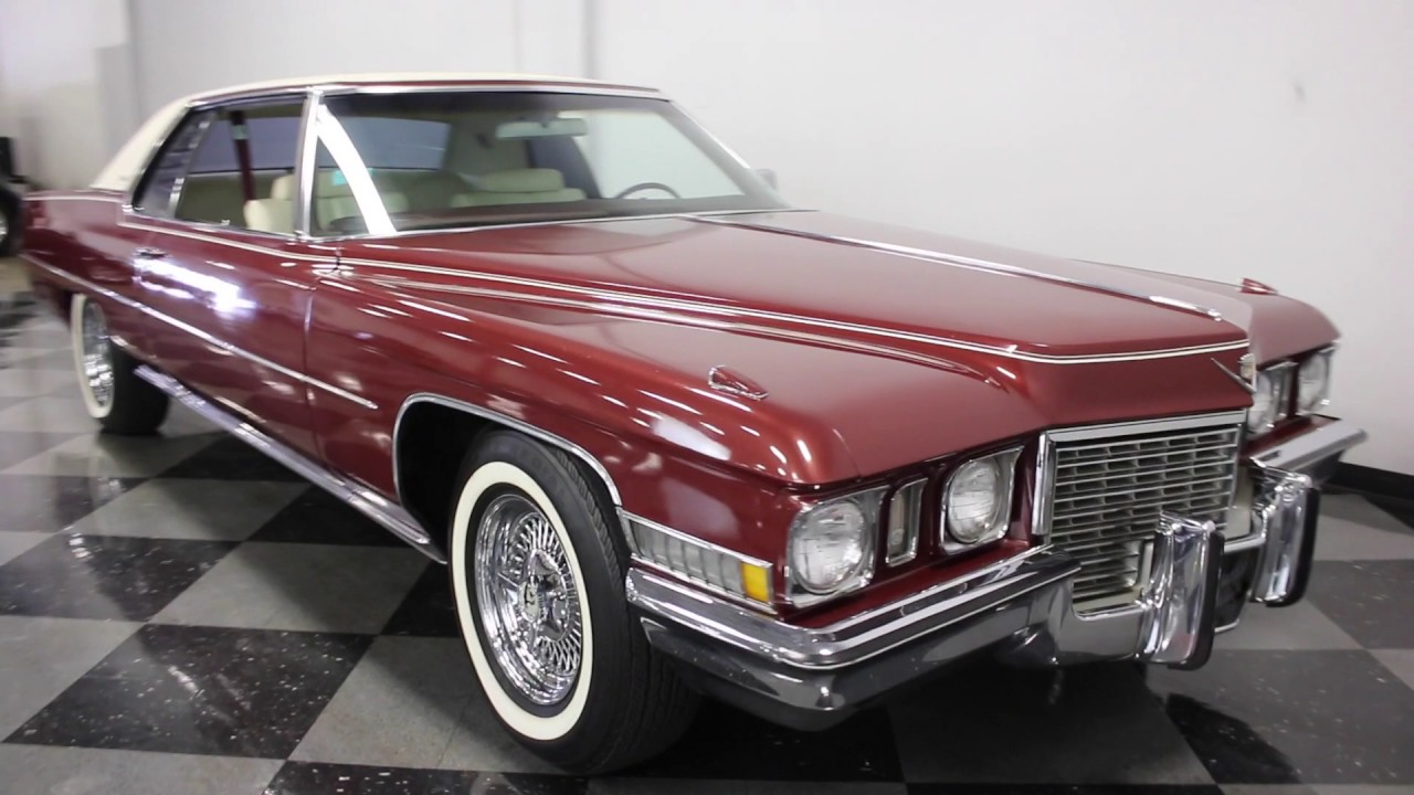 2284 DFW 1972 Cadillac Coupe DeVille - YouTube