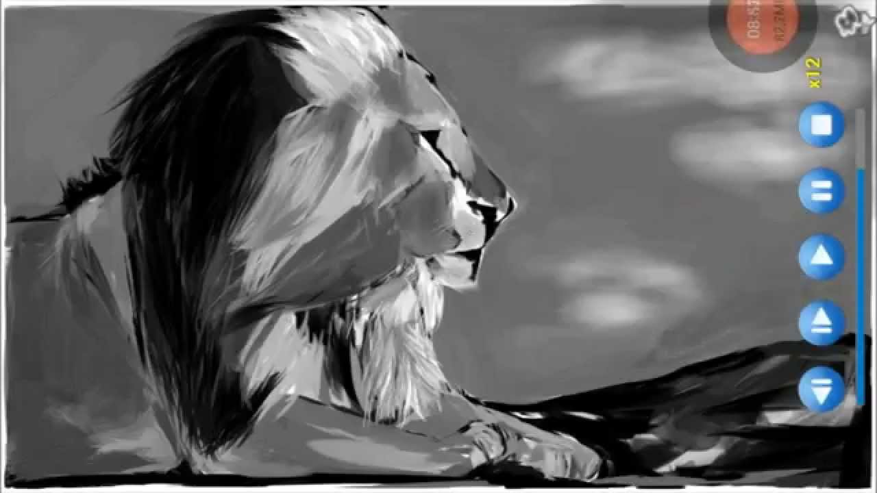 Lion noir et blanc youtube Bureau blanc et noir