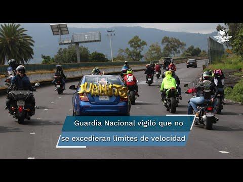 Con rodada, rinden homenaje a motociclistas en Tres Marías