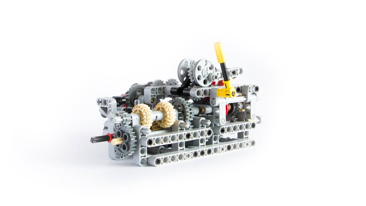 Lego Technic 8 Speed Sequential Gearbox With Building Instructions
