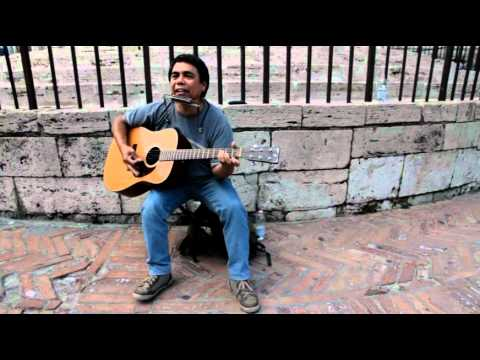 Bob Dylan Hurricane (Cover) street version