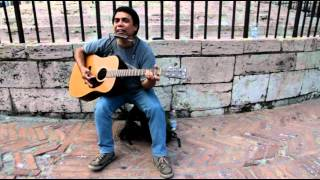 Bob Dylan Hurricane (Cover) street version