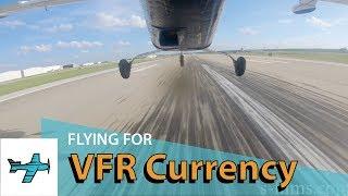 VFR Currency 3 T/O & Landings - TakingOff Ep31