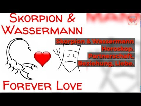 ♡ ♡  Skorpion Wassermann Partnerhoroskop
