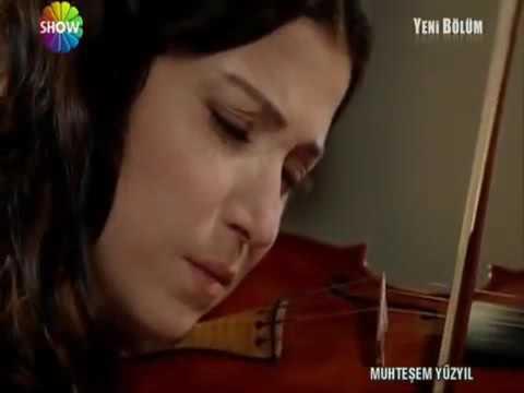 Hatice Sultan Playing Violin