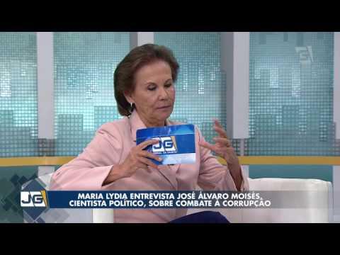 Maria Lydia entrevista José Álvaro Moisés, cientista político, sobre combate à corrupção