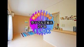ラッフルズ坂元(2FB) 鹿児島市ペット可1LDK