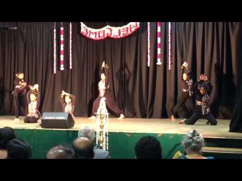 Snake dance Nathar Mudi song by SFA junior group