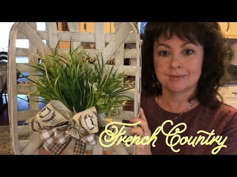Farmhouse | French Country Tobacco Basket Diy 2019