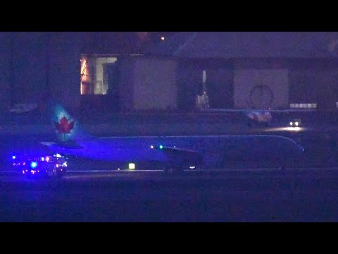 Air Canada 767 Emergency Landing in Madrid after Engine Issue