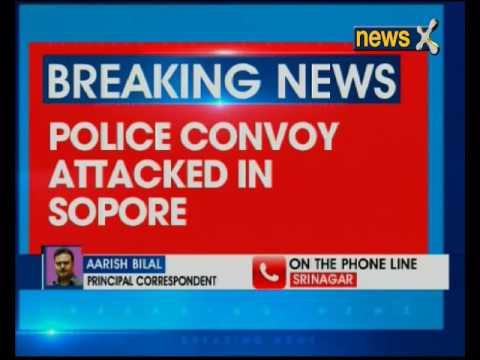 Police convoy attacked in Jammu and Kashmir's Sopore
