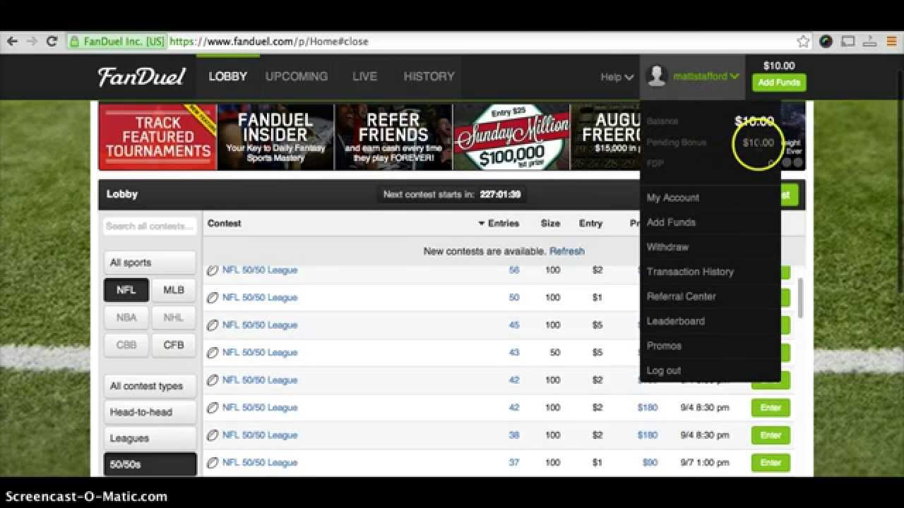 FanDuel Promo Code - Register Today for More than $20 in