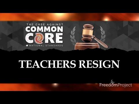 Teachers Resign: The Case Against Common Core & National Standards