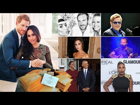 33 celebrities on GUEST list for Prince Harry and Meghan