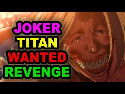 Was Smiling Titan After EREN & His Mother Carla? Attack On Titan Theory (Shingeki No Kyojin Dina)