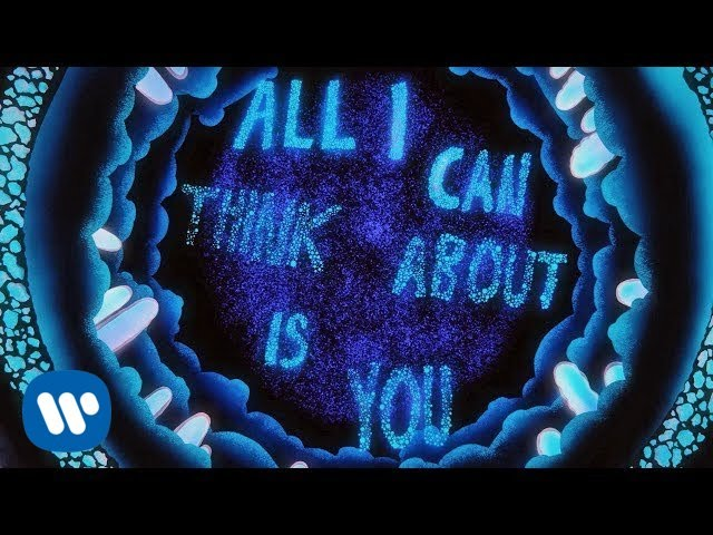 Coldplay All I Can Think About Is You Official Lyric Video Youtube