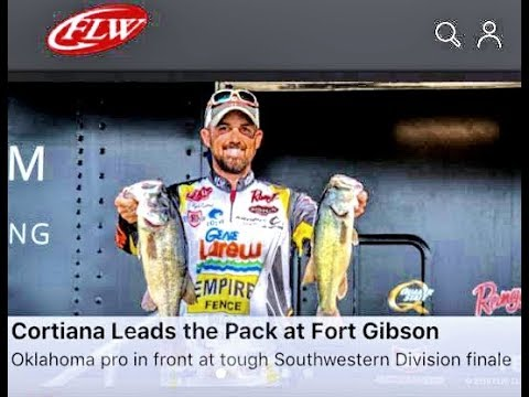 FISHING FOR OVER $80,000!! FLW Costa on Fort Gibson Lake, 2018