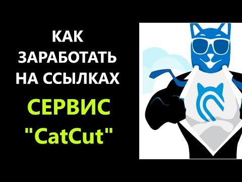 Заработок на сокращении ссылок / Сервис CatCut / Заработок на размещении ссылок / Заработок на сайте