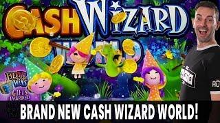 🔴 LIVE 🌟 BRAND NEW CASH WIZARD WORLD ✨ Jackpot Wheel Bonus 🎁 EVERYBODY WINS!