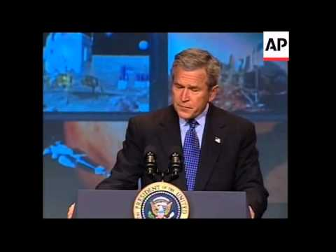President Bush announces new space initiative